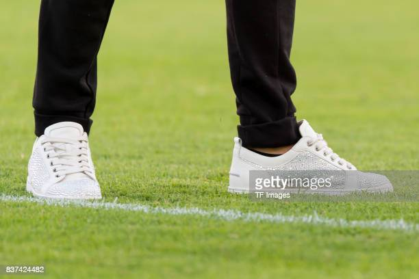 Shoes from Emre Mor of Dortmund during a friendly match between Espanyol Barcelona and Borussia Dortmund as part of the training camp on July 28 2017...