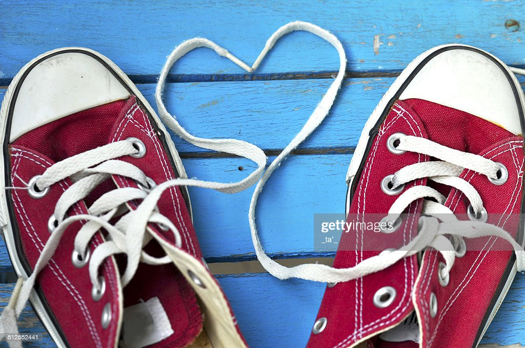 Shoes in love : Stock Photo