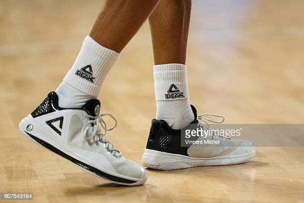 Shoes of Tony Parker during the Appart City Cup between Hermine Nantes and Nanterre on 18th September 2016 Photo by Vincent Michel / Icon Sport
