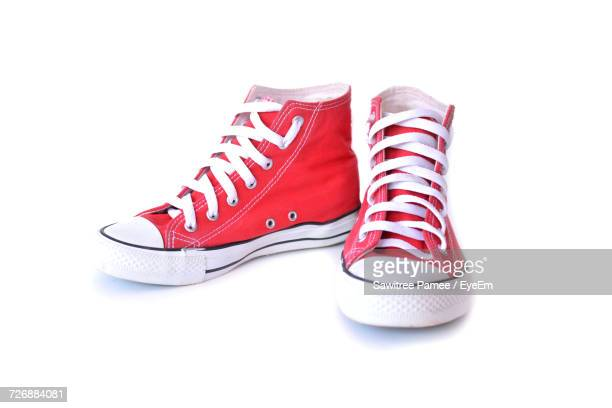 Shoes On White Background