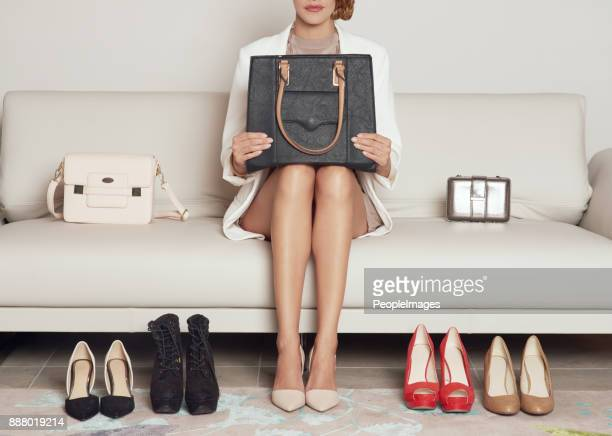 shoes or handbags, how can i decide - clutch bag stock pictures, royalty-free photos & images