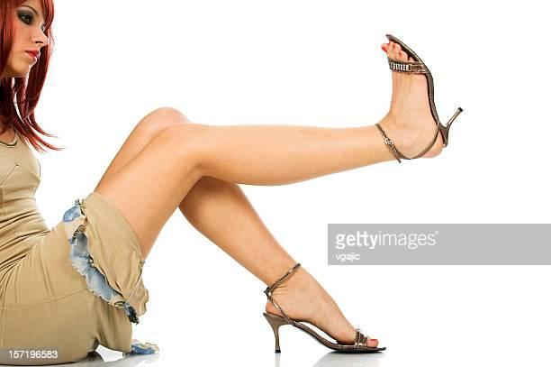 shoes selection - sandaal stockfoto's en -beelden