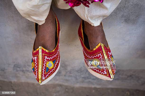Shoes typical of Rajasthan