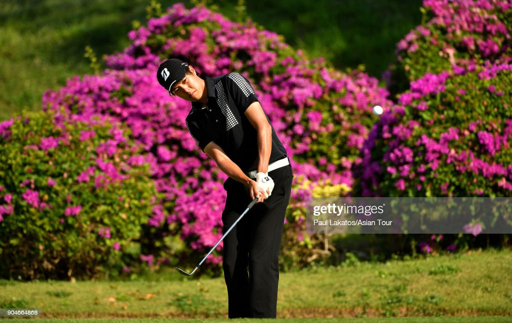Shohei Hasegawa of Japan during round five of the 2018 Asian Tour Qualifying School Final Stage at Rayong Green Valley Country Club on January 14, 2018 in Rayong, Thailand.