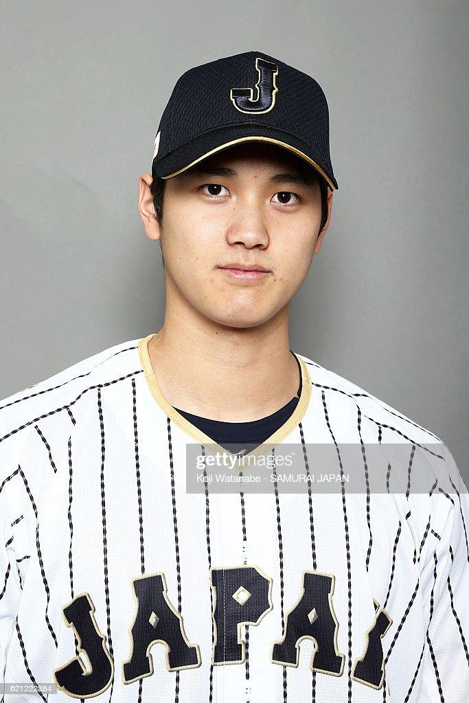 Japan National Baseball Team Portrait Session