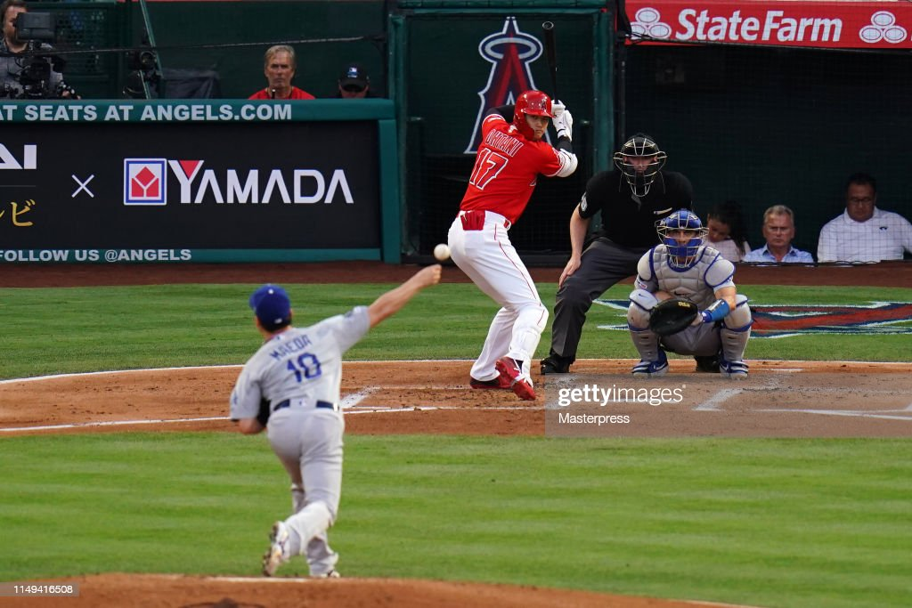Los Angeles Dodgers v Los Angeles Angels : News Photo