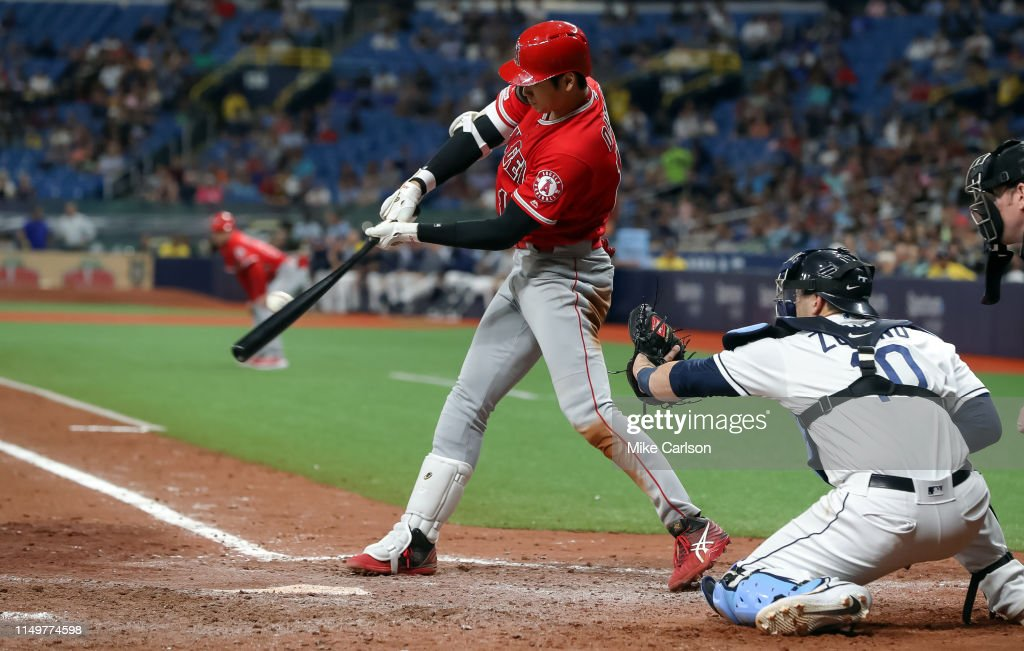 Los Angeles Angels v Tampa Bay Rays : News Photo