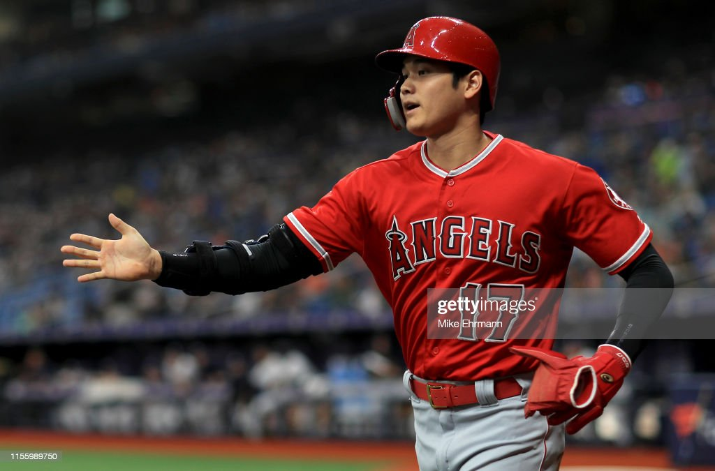 Los Angeles Angels of Anaheim v Tampa Bay Rays : ニュース写真