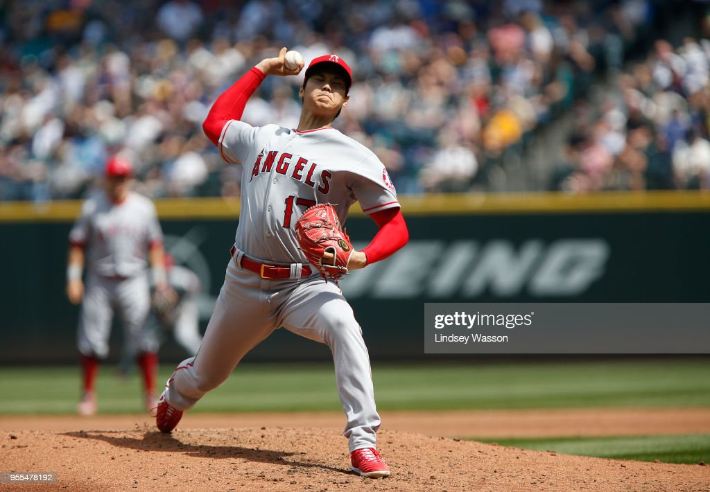 Los Angeles Angels of Anaheim  v Seattle Mariners : News Photo
