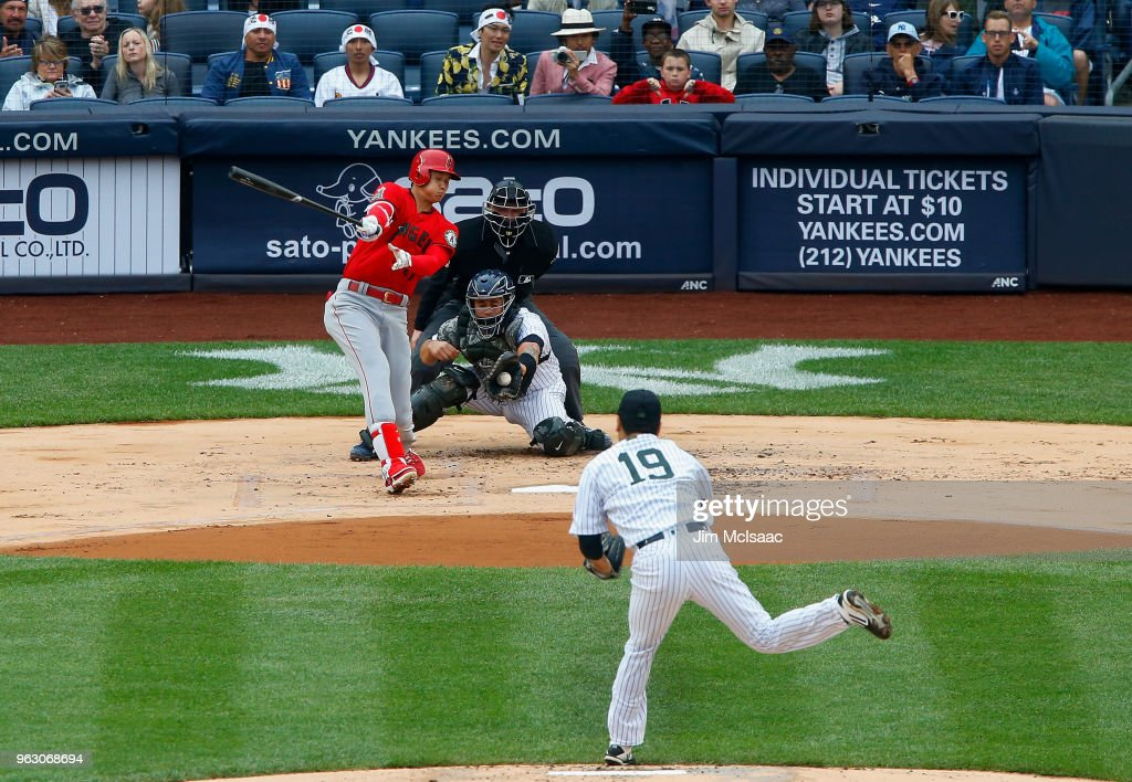 Los Angeles Angels of Anaheim  v New York Yankees