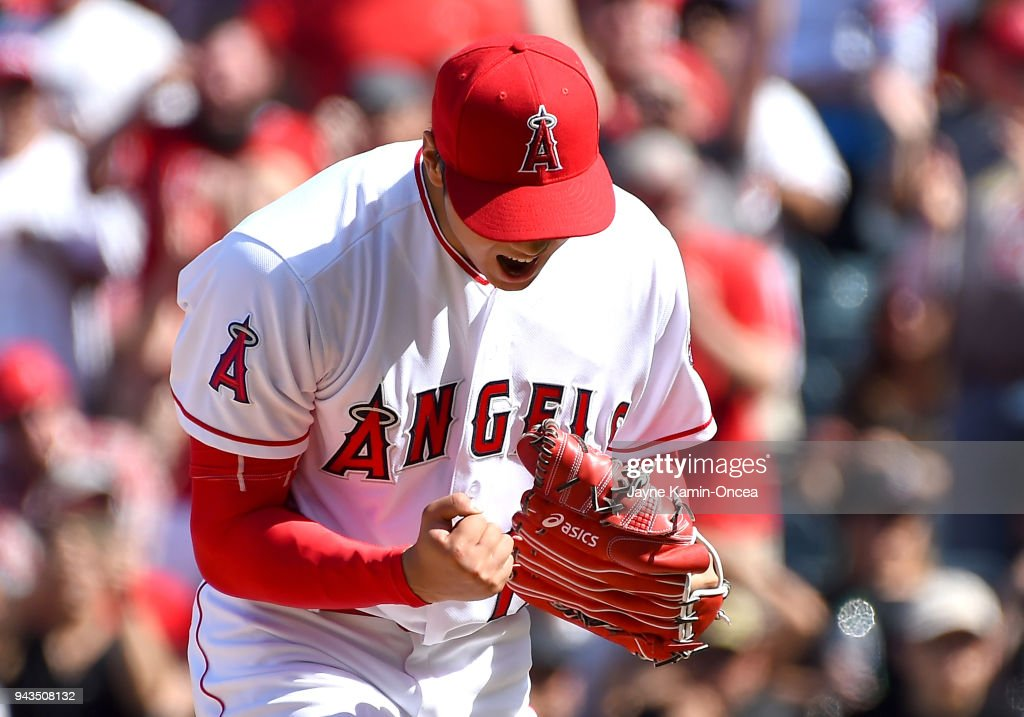 Oakland Athletics v Los Angeles Angels of Anaheim : ニュース写真