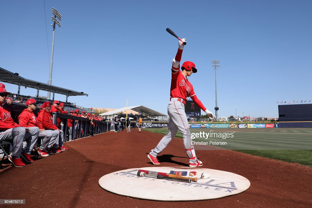 Los Angeles Angels of Anaheim v San Diego Padres : ニュース写真