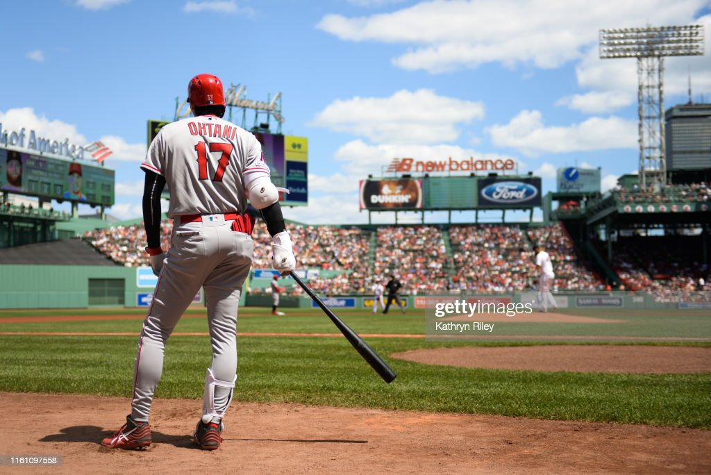 Los Angeles Angels v Boston Red Sox : News Photo