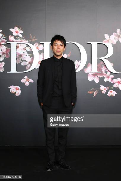 Shohei Shigematsu attends the photocall at the Dior Pre Fall 2019 Men's Collection on November 30, 2018 in Tokyo, Japan.