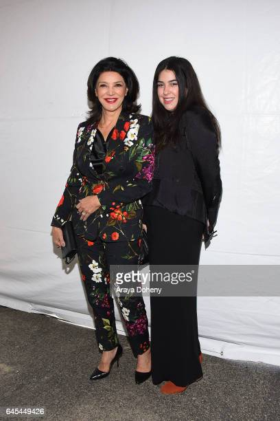 Shohreh Aghdashloo and her daughter Tara Touzie during the 2017 Film Independent Spirit Awards at the Santa Monica Pier on February 25 2017 in Santa...