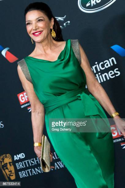 Shohreh Aghdashloo arrives for the 2017 AMD British Academy Britannia Awards presented by Jaguar Land Rover and American Airlines at The Beverly...