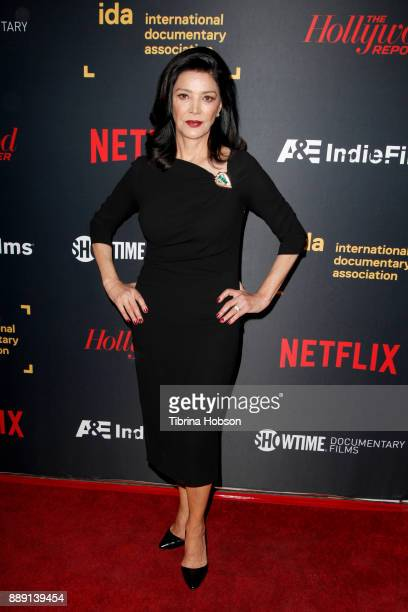 Shohreh Aghdashloo at the 33rd Annual IDA Documentary Awards at Paramount Theatre on December 9 2017 in Los Angeles California