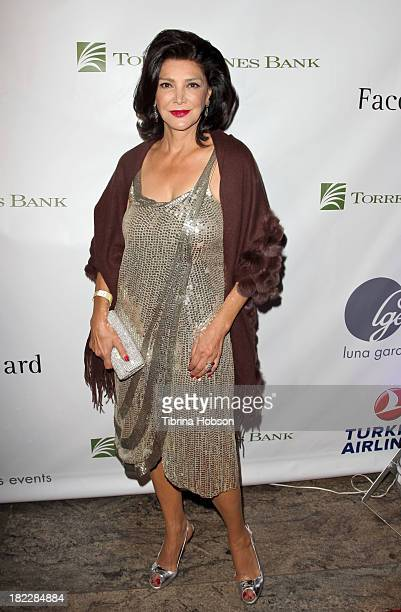Shohreh Aghdashloo attends the 4th annual Face Forward LA Gala at Fairmont Miramar Hotel on September 28, 2013 in Santa Monica, California.