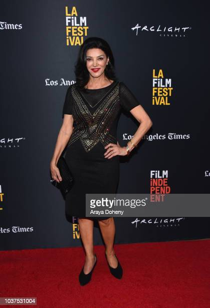 """Shohreh Aghdashloo attends the screening of """"Simple Wedding"""" during the 2018 LA Film Festival at ArcLight Culver City on September 21, 2018 in Culver..."""