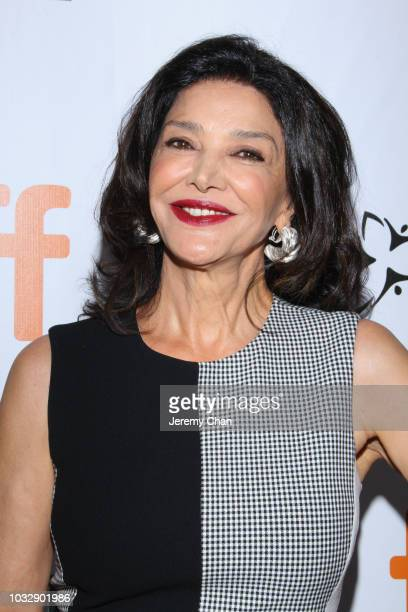 Shohreh Aghdashloo attends the The Lie premiere during 2018 Toronto International Film Festival at Roy Thomson Hall on September 13 2018 in Toronto...