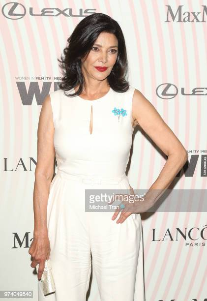 Shohreh Aghdashloo attends the Women In Film 2018 Crystal Lucy Awards held at The Beverly Hilton Hotel on June 13 2018 in Beverly Hills California
