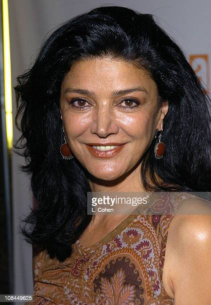 Shohreh Aghdashloo during Hairspray Opening Night Los Angeles Red Carpet at Pantages Theatre in Los Angeles California United States