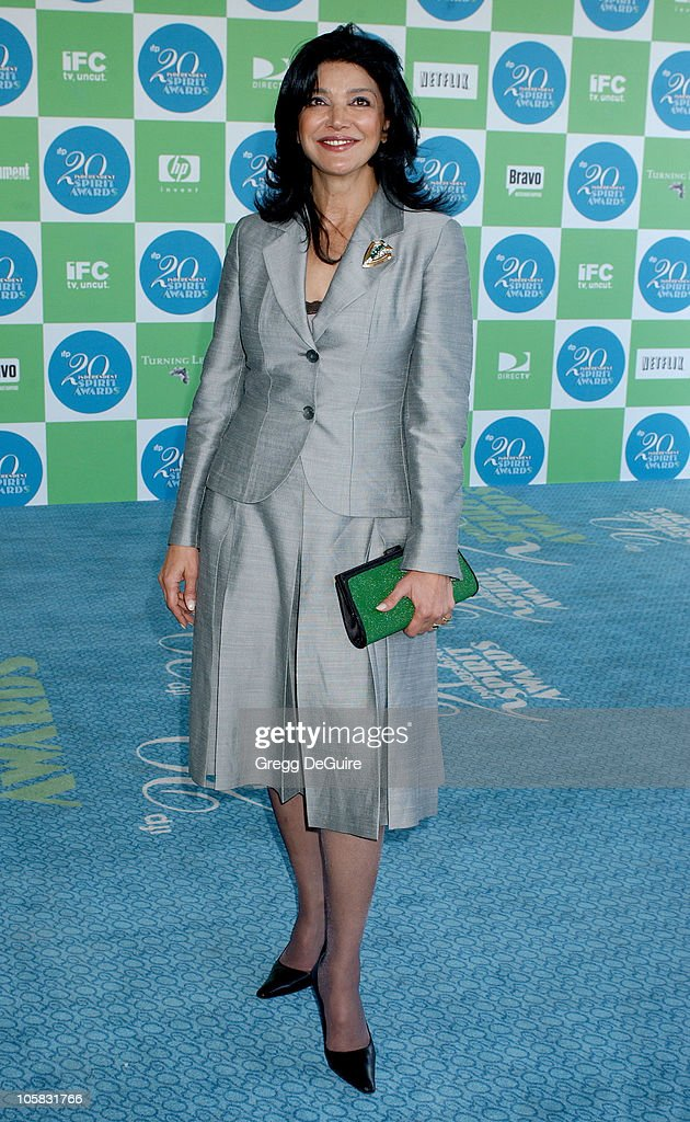 Shohreh Aghdashloo during The 20th Annual IFP Independent Spirit Awards - Arrivals in Santa Monica, California, United States.