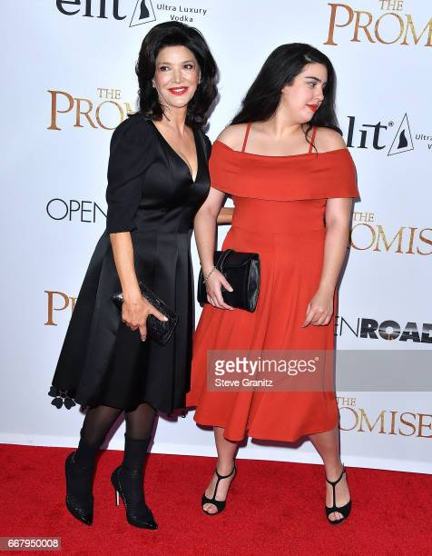 Shohreh Aghdashloo Tara Touzie arrives at the Premiere Of Open Road Films' The Promise at TCL Chinese Theatre on April 12 2017 in Hollywood California