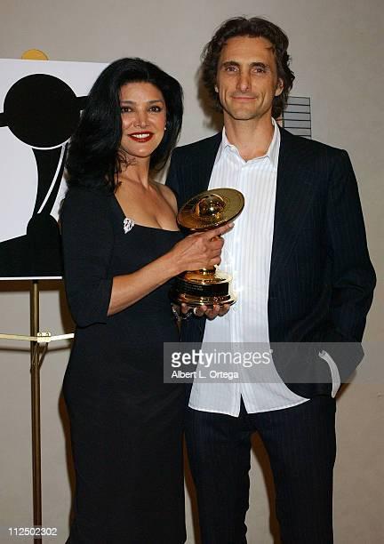 Shohreh Aghdashoo and Lawrence Bender winner for Best Action/Adventure/Thriller Film for 'Kill Bill Vol 2'