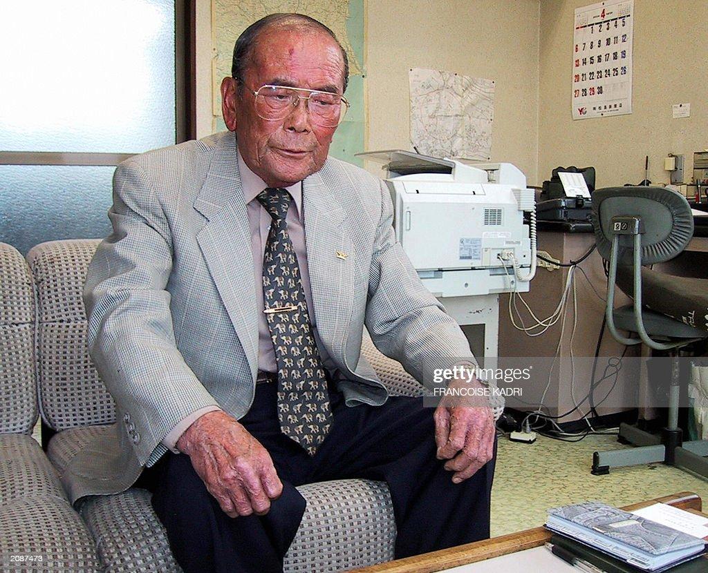 Shoichi Oizumi heads of an association of Tokaimura radiation