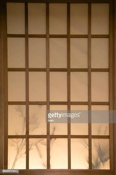 Shoji (Paper Door), Japanese Paper Screen Window