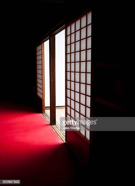Shoji Paper Door, Red Carpet