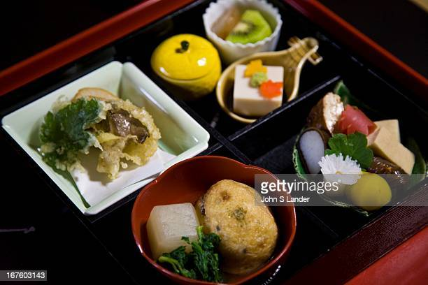 Shojin Ryori Japanese Temple Cuisine Taizoin one of the many subtemples at Miyoshinji Temple is wellknown for its spectacular Japanese gardens but...