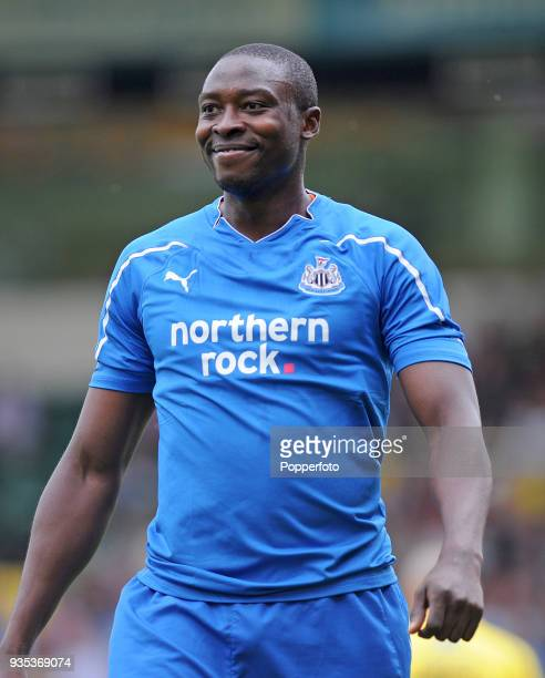 Shola Ameobi of Newcastle United during the Pre Season Friendly match between Norwich City and Newcastle United at Carrow Road in Norwich on July 24...