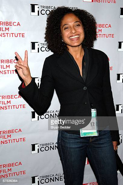 Shola Lynch attends the TAA Closing Night Party during the 5th Annual Tribeca Film Festival May 4, 2006 in New York City.