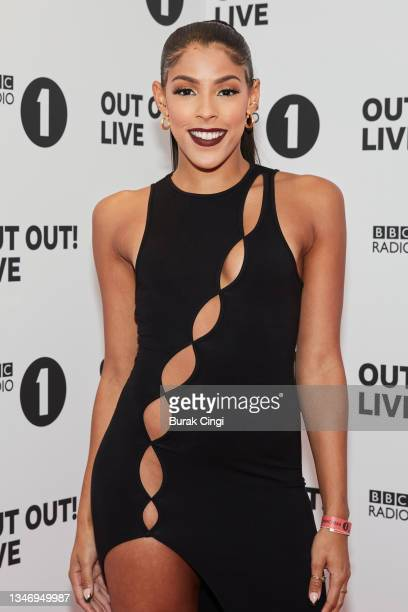 Shola of I Like the Way You Move attends BBC Radio 1 Out Out! Live 2021 at Wembley Arena on October 16, 2021 in London, England.