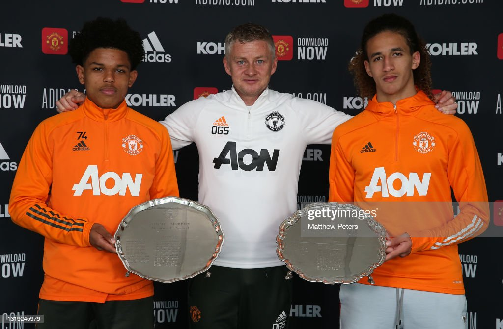 Manchester United Young Player of the Year : News Photo