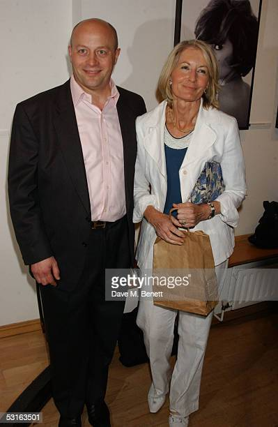 Sholto DouglasHome and Sandra Howard attend the Private View for The Sixties Set An Inside View By Robin DouglasHome at The Air Gallery on June 28...