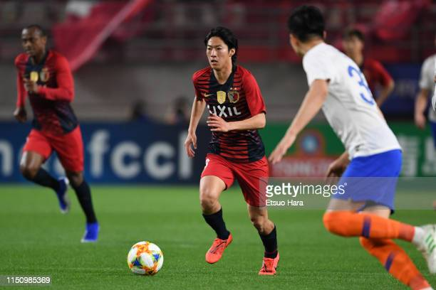 Shoma Doi of Kashima Antlers in action during the AFC Champions League Group E match between Kashima Antlers and Shandong Luneng at Kashima Soccer...
