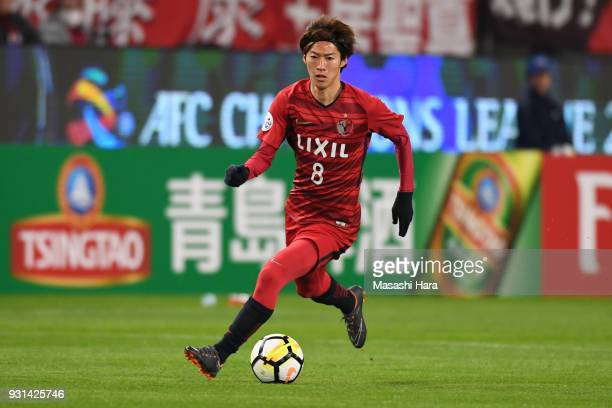 Shoma Doi of Kashima Antlers in action during the AFC Champions League Group H match between Kashima Antlers and Sydney FC at Kashima Soccer Stadium...