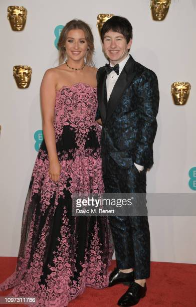Shona Guerin and Barry Keoghan attend the EE British Academy Film Awards at Royal Albert Hall on February 10 2019 in London England
