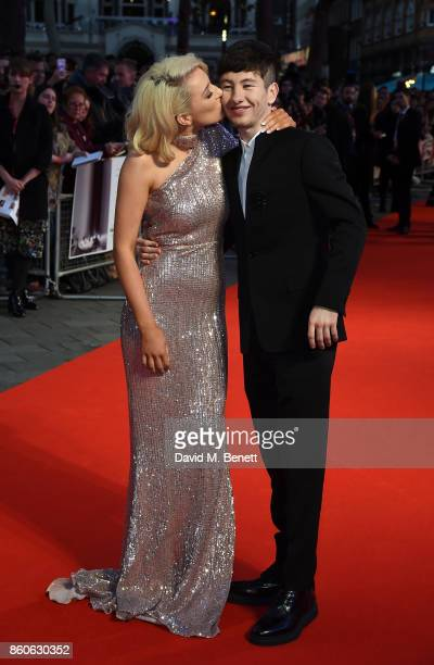 Shona Guerin and Barry Keoghan attend the Headline Gala Screening UK Premiere of 'Killing of a Sacred Deer' during the 61st BFI London Film Festival...