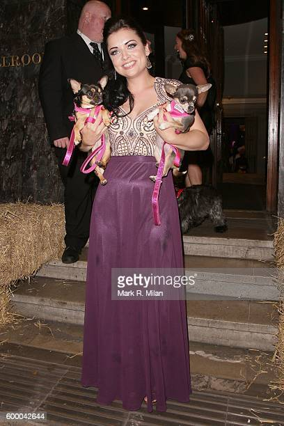 Shona McGarty attending the Daily Mirror and RSPCA Animal Hero Awards on September 7 2016 in London England