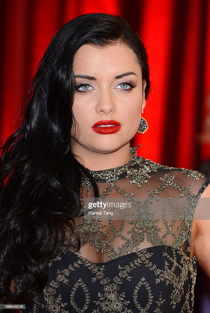 Shona McGarty attends the British Soap Awards at Media City on May 18, 2013 in Manchester, England.