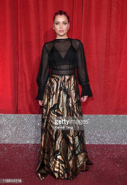 Shona McGarty attends the British Soap Awards at The Lowry Theatre on June 01 2019 in Manchester England