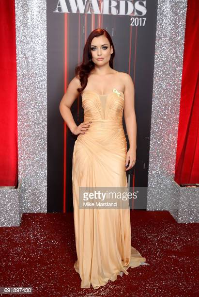 Shona McGarty attends The British Soap Awards at The Lowry Theatre on June 3 2017 in Manchester England The Soap Awards will be aired on June 6 on...