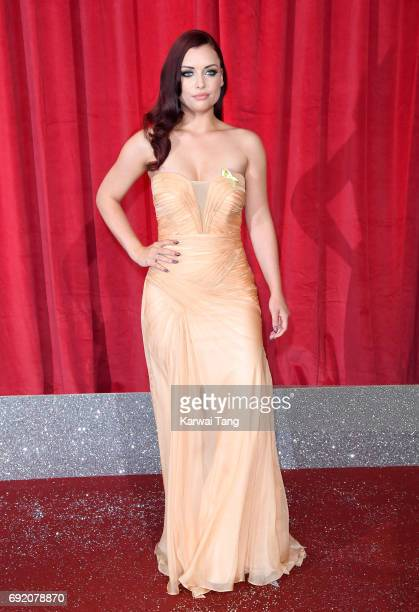 Shona McGarty attends the British Soap Awards at The Lowry Theatre on June 3 2017 in Manchester England