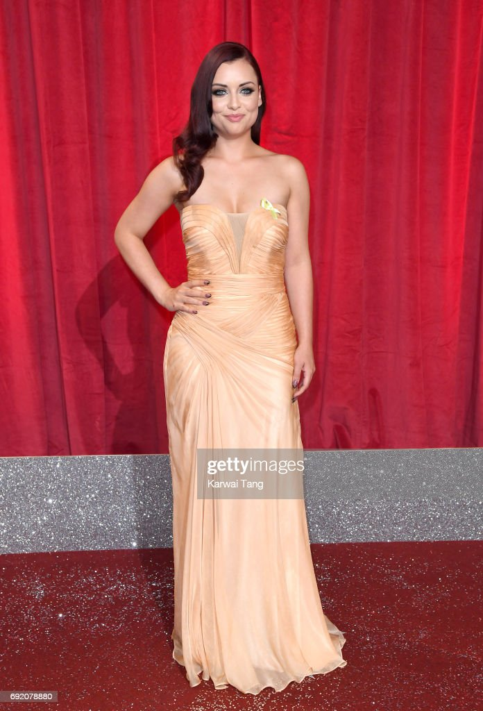 Shona McGarty attends the British Soap Awards at The Lowry Theatre on June 3, 2017 in Manchester, England.