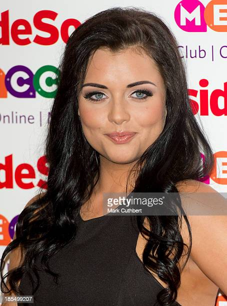 Shona McGarty attends the Inside Soap Awards at Ministry Of Sound on October 21 2013 in London England