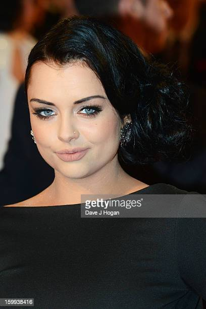 Shona McGarty attends the National Television Awards 2013 at The O2 Arena on January 23 2013 in London England